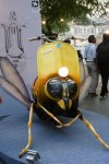 "A wasp by Vespa Scooters at Kala Ghoda Arts Festival 2013. Vespa means ""Wasp"" in Italian."