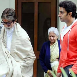 Indira Bhaduri, Amitabh's mother-in-law and Abhishek Bachchan's grandmother.