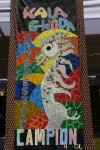 Painting done by Campion School Students at Kala Ghoda Festival 2013