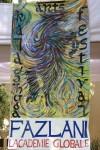 Art work by Fazlani Globale students at Kala Ghoda Festival 2013.