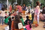 Picture of a Children's Workshop at Kala Ghoda Festival 2013.