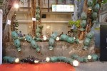 Procession, by Paresh Maity has ants made of motorcycle fuel tanks and headlights. Among the best at Kala Ghoda Festival 2013.