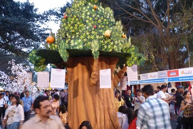 """The Shektor Tree"" by Rajesh Buheche at Kala Ghoda Festival, 2013, has harrowing tales of atrocities committed against women, especially young girls."