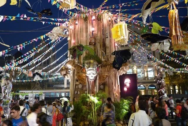 "Production Designer & Art Director, Sukant Panigrahy's ""Kapala"" is the best visual art installation at the 2013 Kala Ghoda Festival."