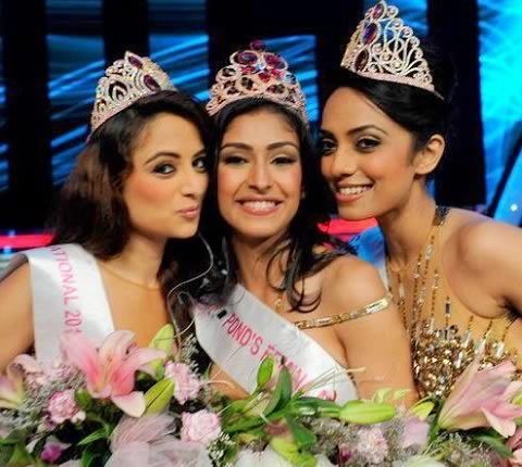 Pictures of the Winners of Femina Miss India 2013 Beauty Pageant