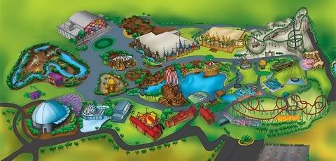Adlab Imagica Theme Park has 6 sections - India, Americana, Viva Europa, Asiana, Jambo Africa, Arabia