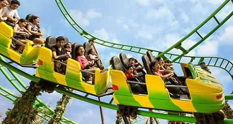 Robin Hood is the children's Roller Coaster at Imagica Theme Park at Khalapur (Khopoli).