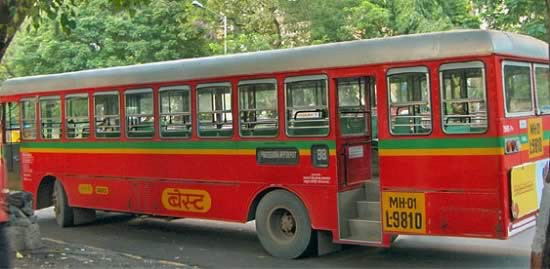 Mumbai's BEST buses Fare and Routes.