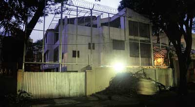 "Amitabh Bachchan newest house is a bungalow in Juhu that is just behind his ""Jalsa"". bungalow"