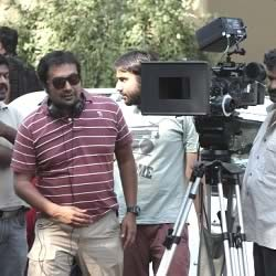 Anurag Kashyap filming Bombay Talkies at Pratiksha, which is Amitabh Bachchan's house.
