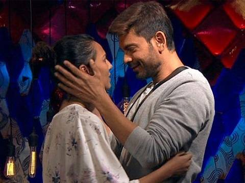 Rochelle Rao and Keith Sequeira in Bigg Boss