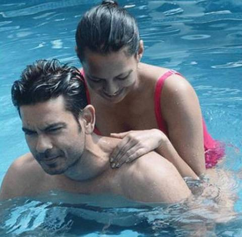 Rochelle Rao and Boyfriend Keith Sequeira, in Bigg Boss