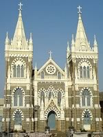 Mount Mary Church at Bandra, is the site of the Bandra Fair.