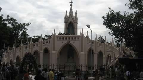 Mumbai's Bandra Fair is held at Mount Mary Basilica at Bandra West.