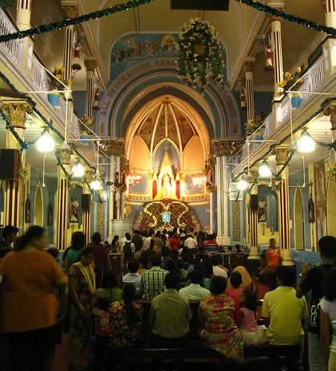 Bandra Fair at the Mount Mary Church celebrates birth of Virgin Mary, mother of Jesus Christ.