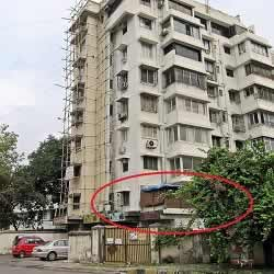 Salman Khan's House at Galaxy Building at Bandstand, Bandra West.
