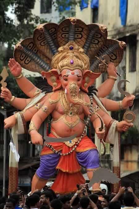 Chandanwadi (Chira Bazaar) Ganesh is among Mumbai's best in 2013.