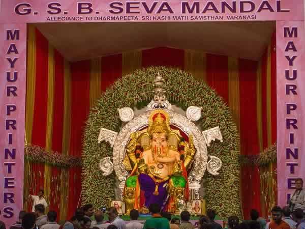 Made of clay and grass, Mumbai's GSB Seva's Ganesh is eco-friendly