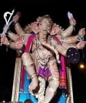 """Among Mumbai's Best Ganesh is """"Mumbaicha Maharaja"""" (Khetwadi 11 Gali)"""