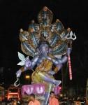"Khambata Lane's ""Khetwadicha Raja"" has 10 Sheshnag on its head."