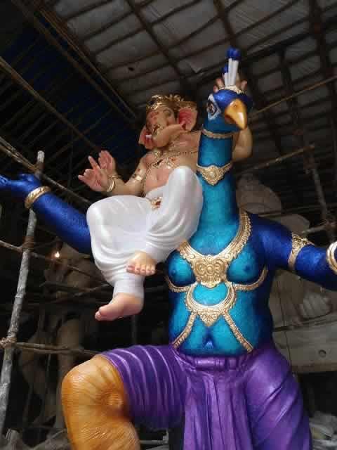 2013 Panchsheel Ganpati (Mumbai Central) is one of the best Ganesh idols in Mumbai.