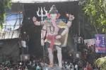 """""""Parel Cha Raja"""" (Nare Park) Ganpati is a famous Mumbai Ganesh Idol."""