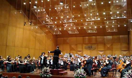 Symphony Orchestra of India plays Western Classical Music at NCPA, Mumbai.