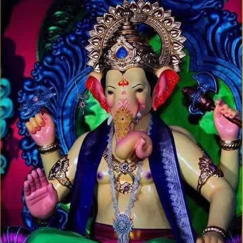 "Khetwadi Galli 10 Ganesh is called ""Bappa Khetwadicha""."