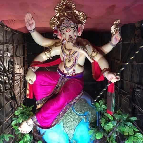 Khambata Lane Khetwadicha Raja is among Mumbai's Tallest Ganesh