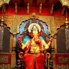 Lalbaug Cha Raja is among Mumbai's best Ganesh. It is world famous