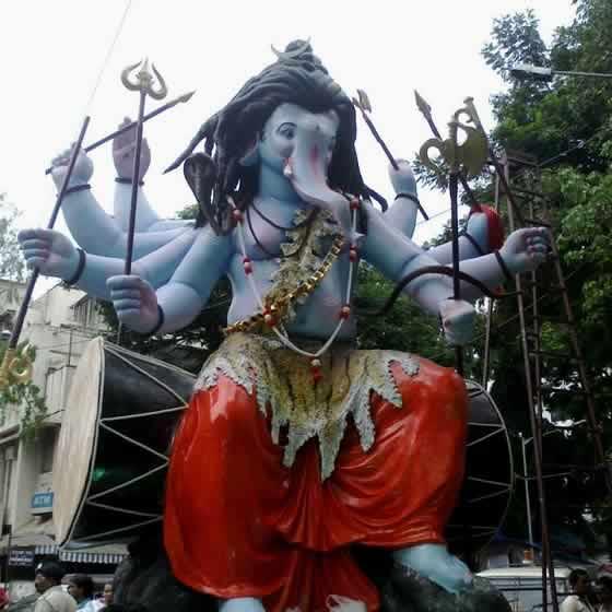 Vile Parle VishwaCha Raja Ganesh is one of Mumbai's best in 2014.