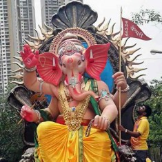 "Picture of the 2014 ""Currey Road Kaivari"" Ganpati"