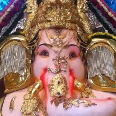 GSB Seva Mandal Ganpati. Among Mumbai's most famous & best Ganesh.