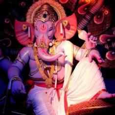 "Lalbaug's ""Raja Tejukayacha"" is a famous Mumbai Ganesh."