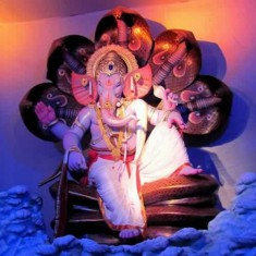 Raja Tejukayacha (Lalbaug) is among Mumbai's best Ganesh