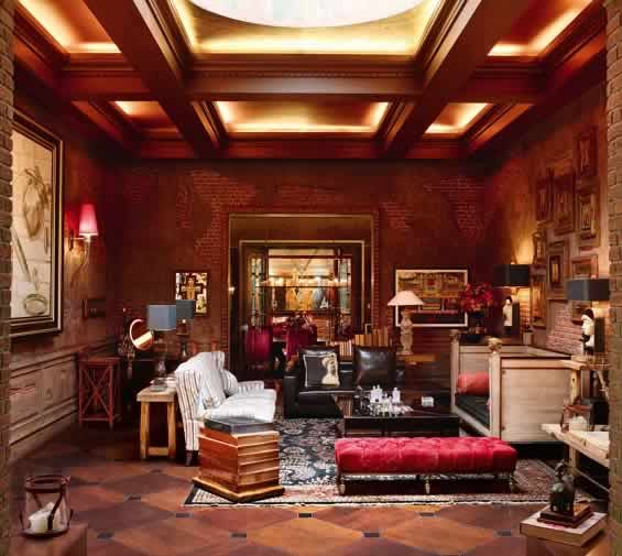 Shahrukh Khan's Living Room, Which is Designed By Wife, Gauri.