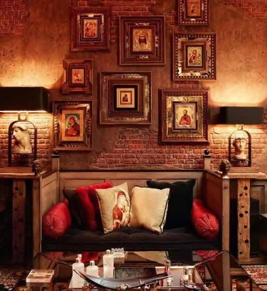 Amazing Image Of The Interiors Of Shahrukh Khanu0027s Living Room. Awesome Design