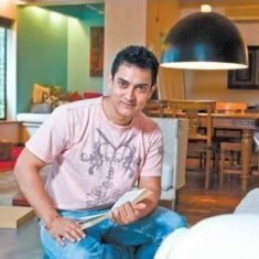 Photo of Aamir Khan inside his Belle Vista House