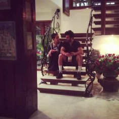 Anil Kapoor and his Wife, Sunita, Inside their Bungalow