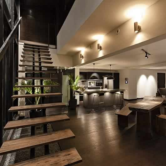 ... Interior View Of Movie Star John Abrahamu0027s Duplex Home