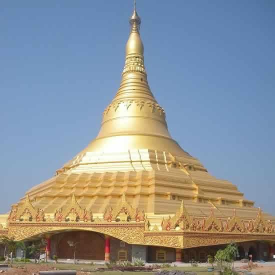 Global Vipasana Pagoda Is One Of Mumbai S Best Religious Places Wonderful Mumbai