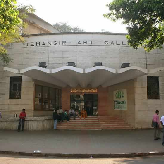 Jehangir Art Gallery is in Mumbai's Art District of Kala Ghoda