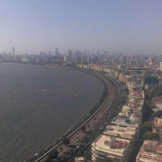 Mumbai's Marine Drive Is A Popular Tourist Destination