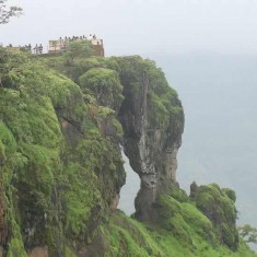 Mahabaleshwar Has Many Ccenic Places Like Elephant Point