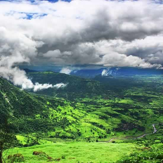 Great Views Of The Sahyadri from Matheran Hill Station