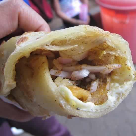Delicious Tibb's Frankie Wrap Is Originally From Mumbai