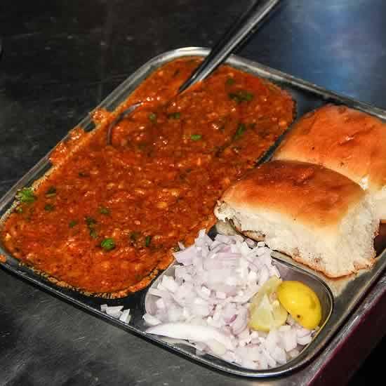 Pav Bhaji Is A Popular Street Food From Mumbai