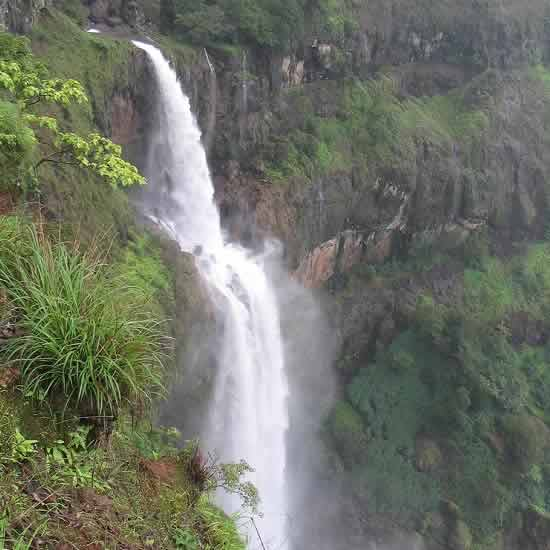 Lingmala Is The Most Famous Of Mahabaleshwar's Waterfalls