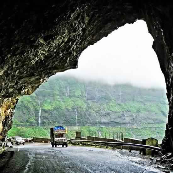 Malshej Ghat And Its Waterfalls Are Famous In The Rains