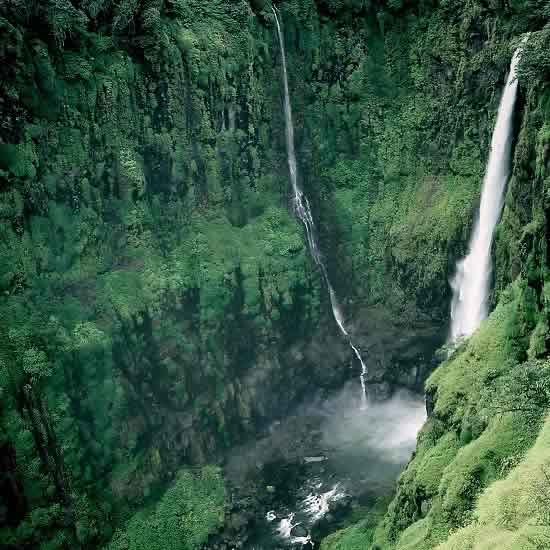 Thoseghar Fall Is A Famous, Tall Waterfall Near Satara